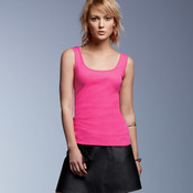 Ladies' 2x1 Cotton Rib Tank Top