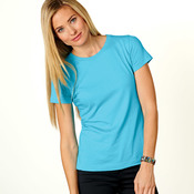 LA T Ladies' Combed Ring-Spun Cotton T- Shirt