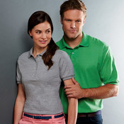 Adult 50/50 Jersey Polo with SpotShield®