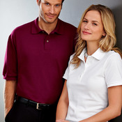 Ladies' Ring-Spun Cotton Pique Polo