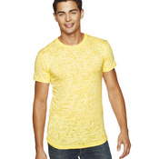 Men's Poly/Cotton Burnout Crew