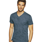 Men's Poly/Cotton Burnout V