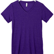 +CANVAS Ladies' Relaxed Jersey Short-Sleeve V-Neck Tee