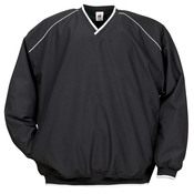 Adult Piped Microfiber Windshirt