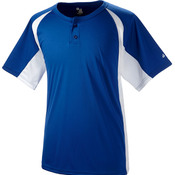 Adult Hook Placket Tee