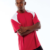 Adult Cool & Dry Sport Color Block Performance Tee