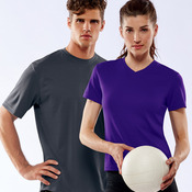 UltraClub® Ladies' Cool & Dry Sport V-Neck Tee