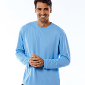UltraClub® Adult Cool & Dry Sport Long-Sleeve Tee