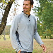 Adult Cool & Dry Sport Long-Sleeve 1/4-Zip Performance Pullover