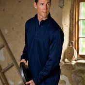 UltraClub® Adult Cool & Dry Sport 1/4-Zip Pullover Fleece