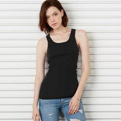 Ladies' Sheer Rib Blend Tank