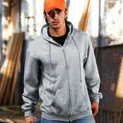 Adult Hooded Full-Zip Blended Fleece