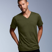 Adult Fashion Fit V-Neck Cotton Tee