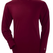 Adult Double Dry® Long-Sleeve Interlock Polyester T-Shirt