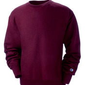 Adult Reverse Weave® Blended Crewneck Sweatshirt