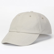 Solid Low-Profile Brushed Twill Unconstructed Cotton Cap