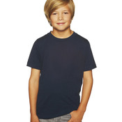 Boy's Short-Sleeved Cotton Crew Shirt