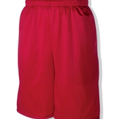 Adult Poly Mesh 9-inch Shorts