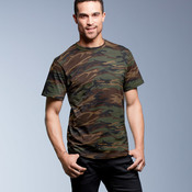 Adult Camouflage Cotton Tee