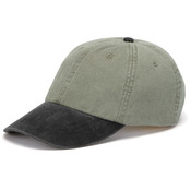 Cotton Pigment-Dyed Unconstructed Two-Tone Stone Optimum Cap