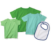 Infant Terry Snap Cotton Bib