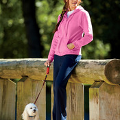 ® Heavy Blend™ Ladies' Full-Zip Hooded Sweatshirt