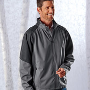UltraClub Adult 2-Tone Soft Shell Jacket