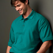 UltraClub Men's Whisper Piqué Polo